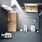 12 практических советов для обитателей квартир с маленьким санузлом