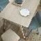 Alki красит стулья в бирюзовый цвет