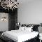 Черно-белый шарм: как сделать элегантную спальню