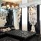 Гостиная в черно-белых тонах: дизайнер Юлия Трофименко