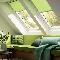 VELUX обновляет цвет мансардных штор