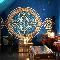 «Восточный шатер» в мансарде: дизайнер Надежда Голубцова