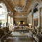 Роскошный зал в частном доме: дизайнер Марина Дедова