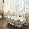 Стильная ванная в стиле «ретрофутуризм»