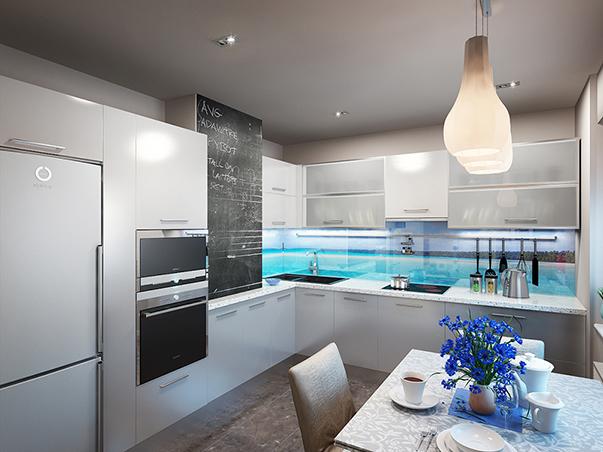 дизайн кухни 9 кв м фото новинки 2016 фото