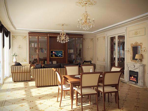 Дизайн сталинки 2 комнаты