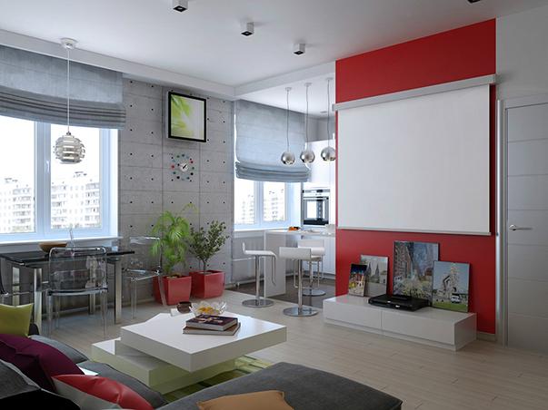 Перепланировка однокомнатной квартиры - фото