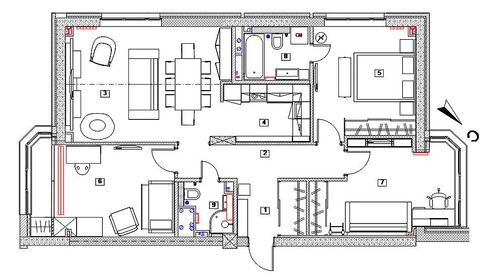 Согласование перепланировки квартиры: порядок действий