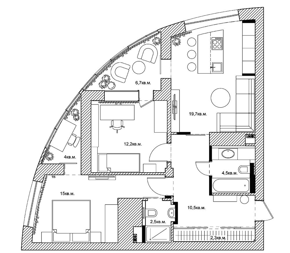Ремонт 1-комнатной квартиры 35 кв/м в Москве: цены на