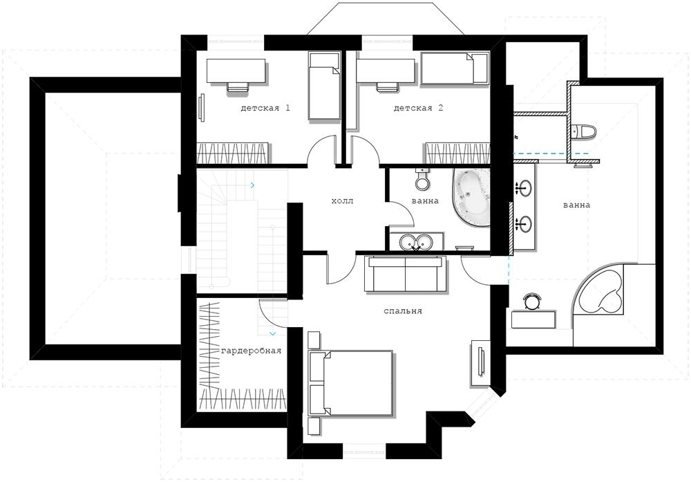 Загородный дом планы фото английский стиль