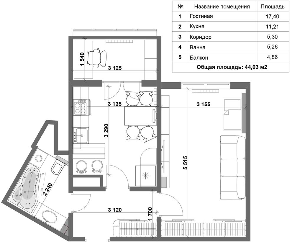 Дизайн и интерьер двухкомнатной квартиры хрущевки