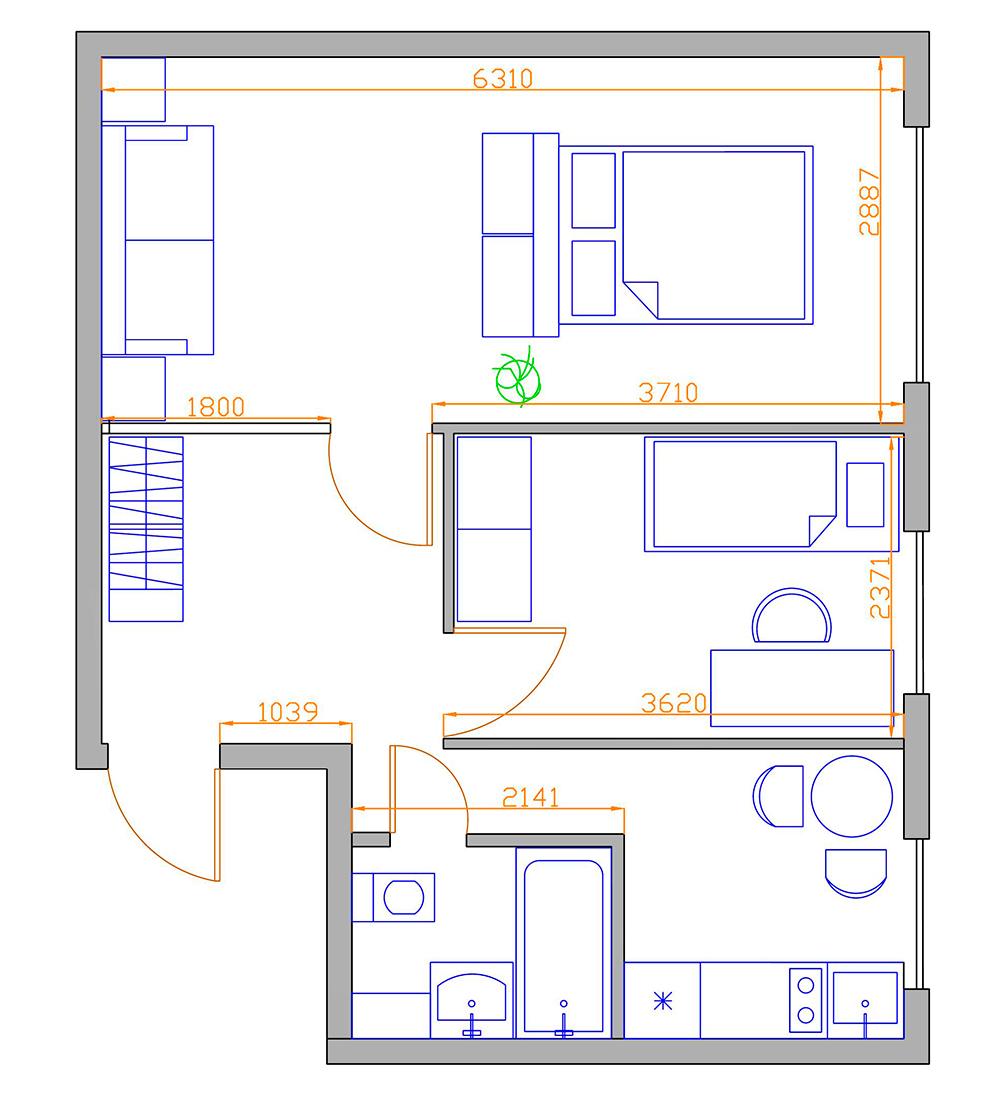 Перепланировка квартиры (184 фото): образец - что можно, а