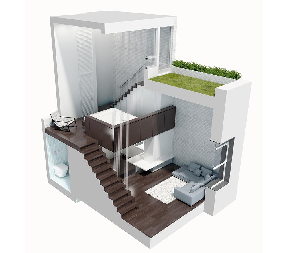 Дизайн проекты для однокомнатной квартиры 40 кв.м