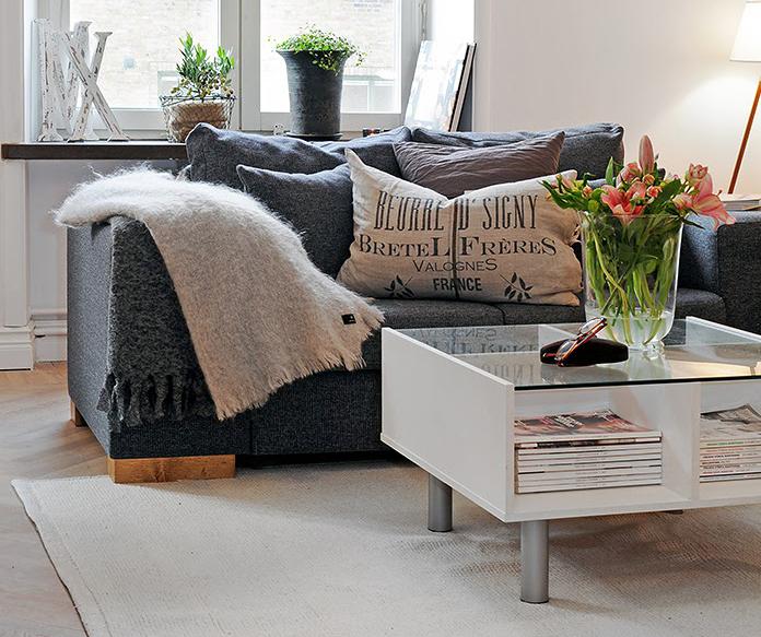 Дизайн маленькой квартиры в швеции