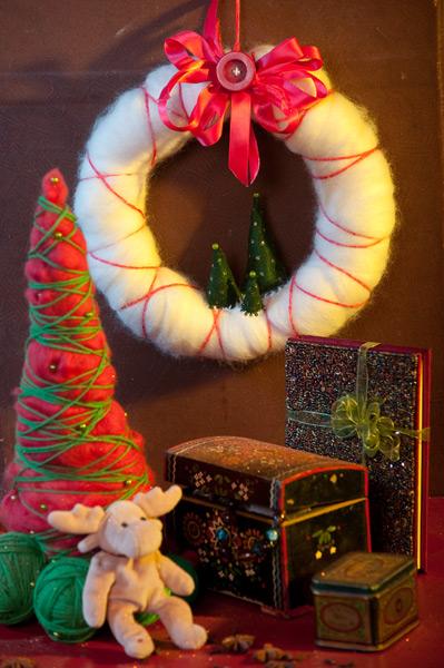 Поделки своими руками для дома новогодние
